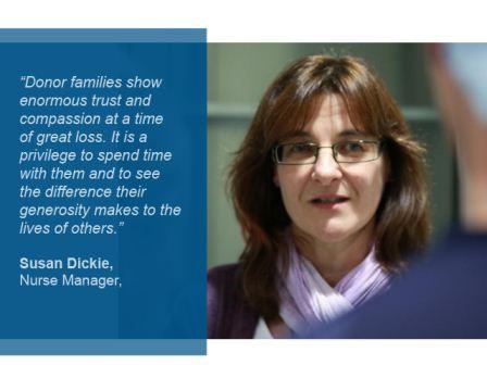 Susan Dickie, Nurse Manager, DTBV